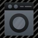 electronic, washer, washing machine icon