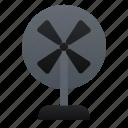 electronic, fan, wind icon