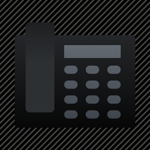 electronic, phone, telephone icon