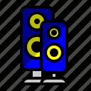 load speaker, multimedia, music, sound