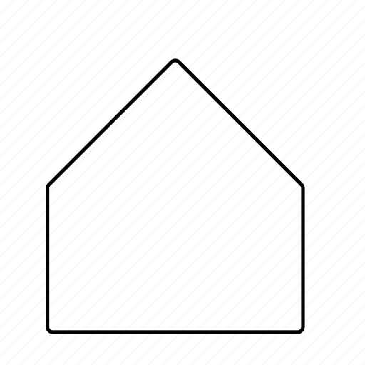 home line menu outline icon