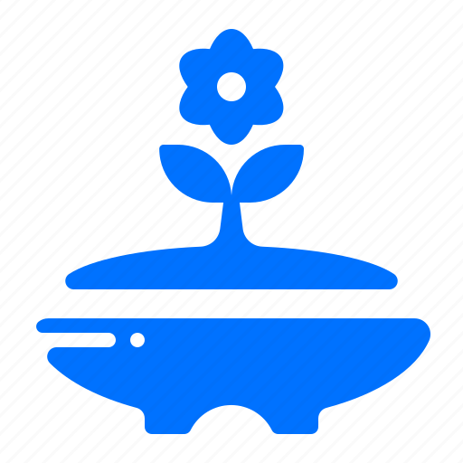 decoration, flower, plant, pot icon