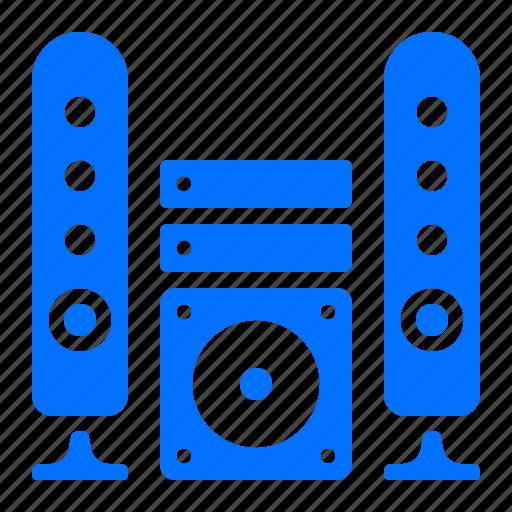 appliance, audio, sound, system icon