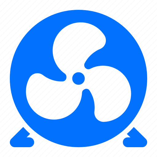 appliance, cooling, fan, standing icon