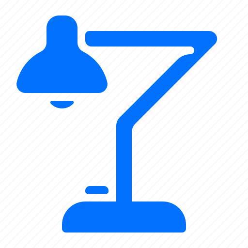 desk, lamp, light, lighting icon