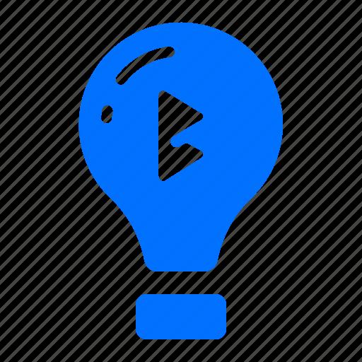 light, lightbulb, lighting icon