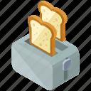 appliance, device, essentials, home, kitchen, toaster