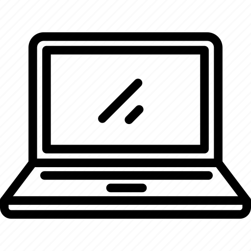 computer, laptop, notebook, pc, technology icon