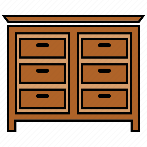 cabinet, cupboard, furniture, wardrobe icon
