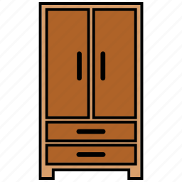 cabinet, furniture, interior, wardrobes icon