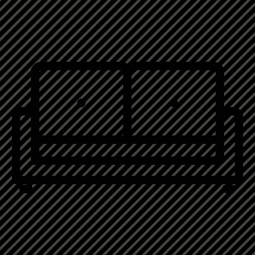 appliance, furniture, home, lounge sofa icon