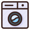 laundry, washing, machine, robot