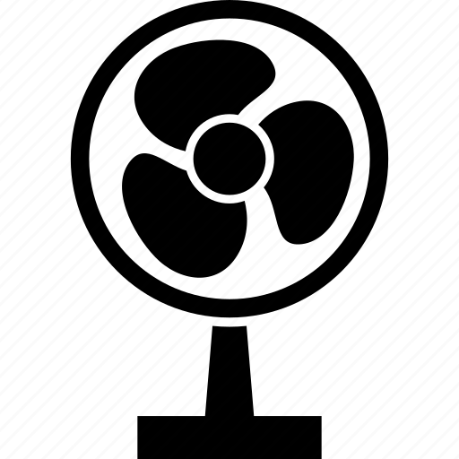 Fan, table fan, electrical, appliances, table, home icon