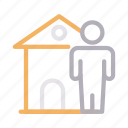 apartment, avatar, building, home, house icon