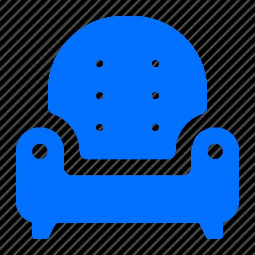 armchair, chair, furniture, home icon