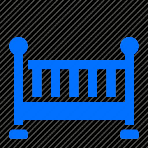 baby, crib, furniture, room icon