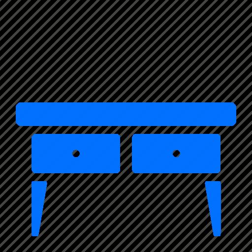 Desk, furniture, home, office icon - Download on Iconfinder