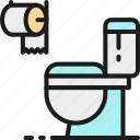 bathroom, furniture, home, house, interior, toilet, wc icon