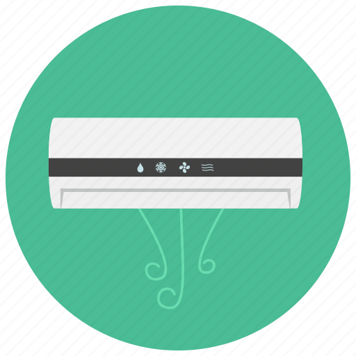 air conditioner, appliances, cooling, heating, home icon