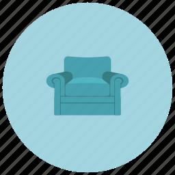 armchair, home, livingroom, seat icon