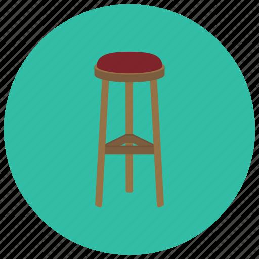 bar, decor, furniture, home, kitchen, stool icon
