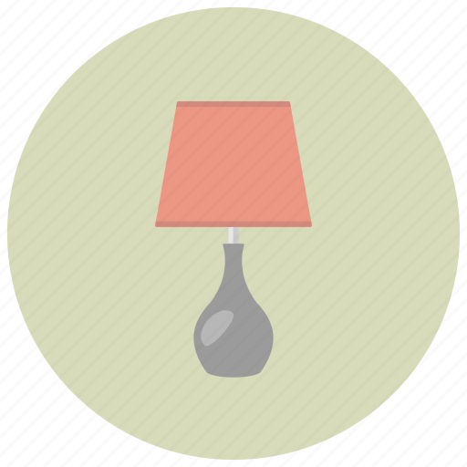 decor, home, lamp, light, lighting, night icon