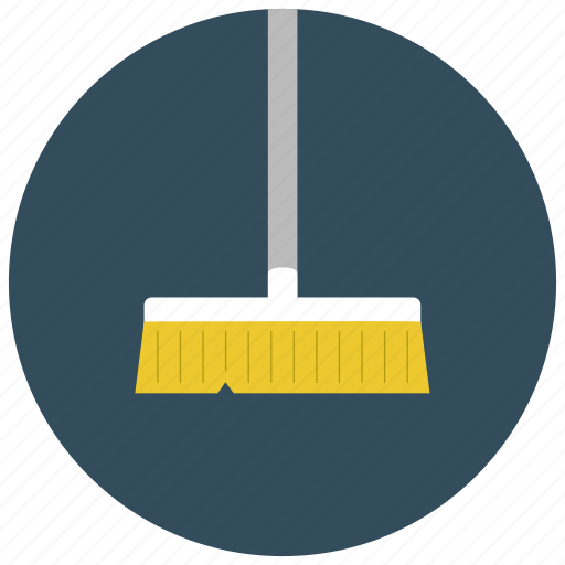 broom, cleaning, home, housekeeping, sweeping icon