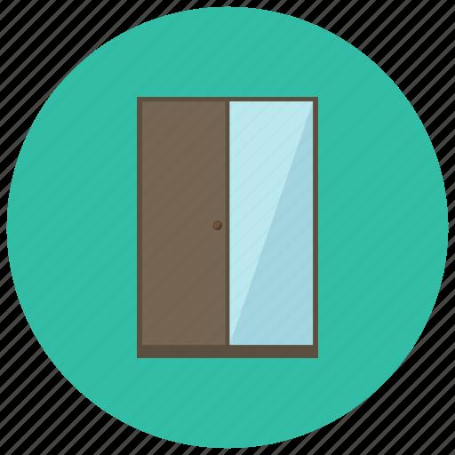 closet, cupboard, home, mirror icon