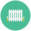 heat, home, pipes, radiator, winter icon