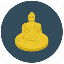 asian, buddha, home, religious, statue icon