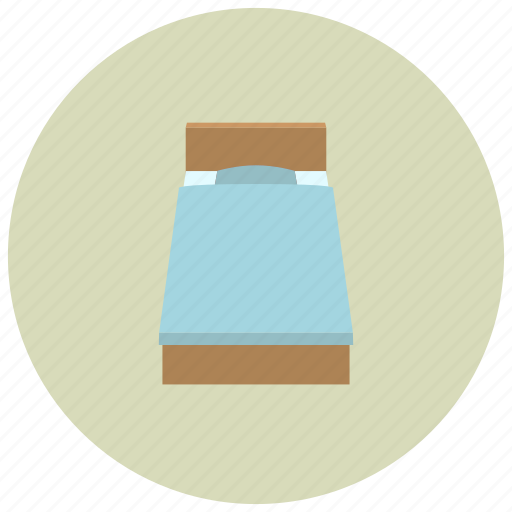 bed, bedroom, home, sleep icon