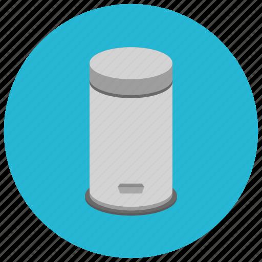 bin, furniture, garbage, home, kitchen, trash, waste icon