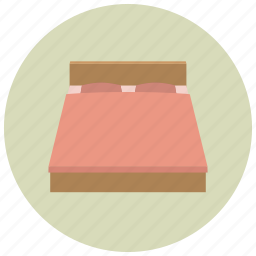bed, bedroom, home, nap, rest, sleep icon
