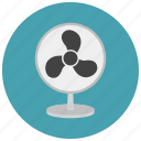 cool, fan, furniture, heat, home, summer icon
