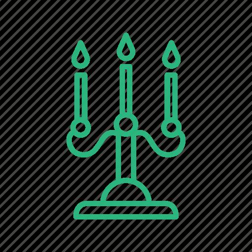 candle, decor, flat icon, lamp, light, lighting icon