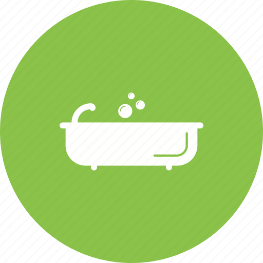 bath, bathroom, bathtub, house, interior, shower icon