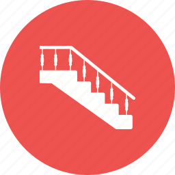 architecture, home, house, interior, modern, staircase, stairs icon