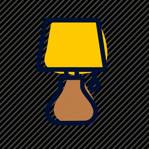 lamp, living room icon