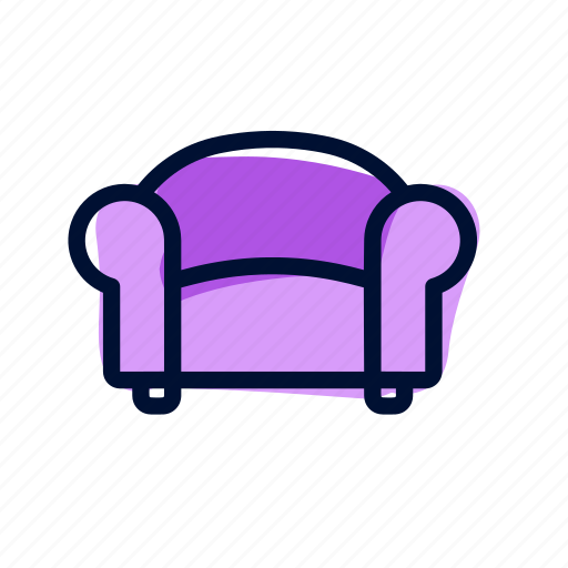 chair, family, furniture, living room icon