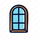 home, house, window icon