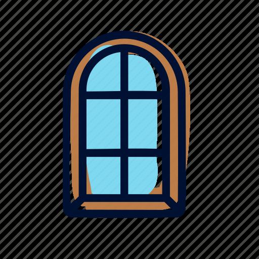 home, house, window icon