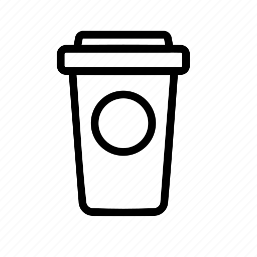 coffee, cup, packaging icon