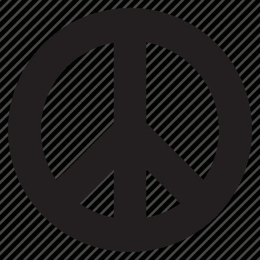 peace, protest, symbol icon