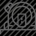 home, measure, measuring, renovation, ruler, tape, tool icon