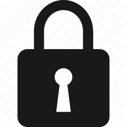 lock, locked, privacy, security icon