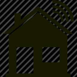 alarm, home, house, signal icon