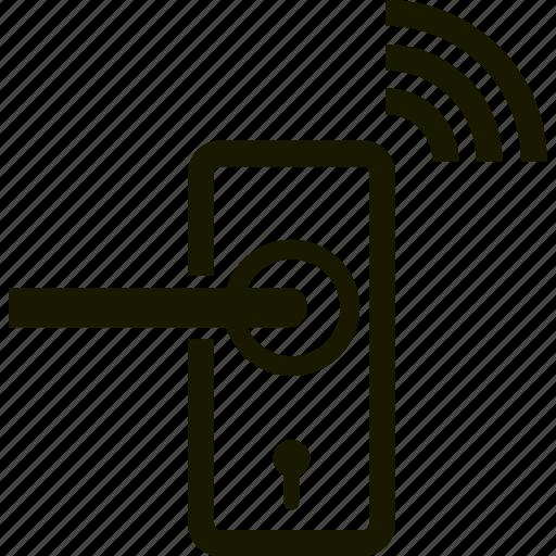 alarm, lock, security, signal icon