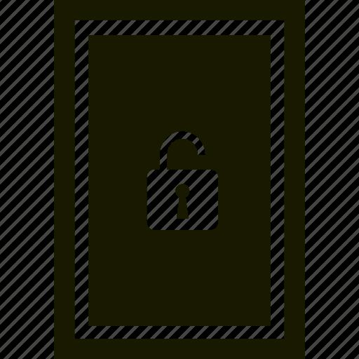 privacy, security, unlock, unlocked icon