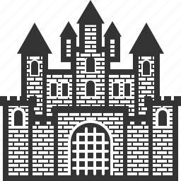 building, castle, house, kingdom, palace, real estate, tower icon