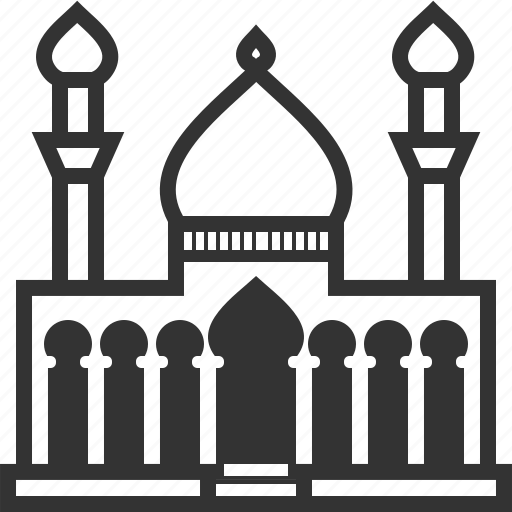 building, church, home, house, mosque, muslim, tower icon